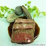 和牛ステーキ 岩石焼き(ペドロシェフ)