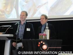 (右から)Henk Van Dongen & Henk de Bruin from Fresh Retail ,Apex Inc